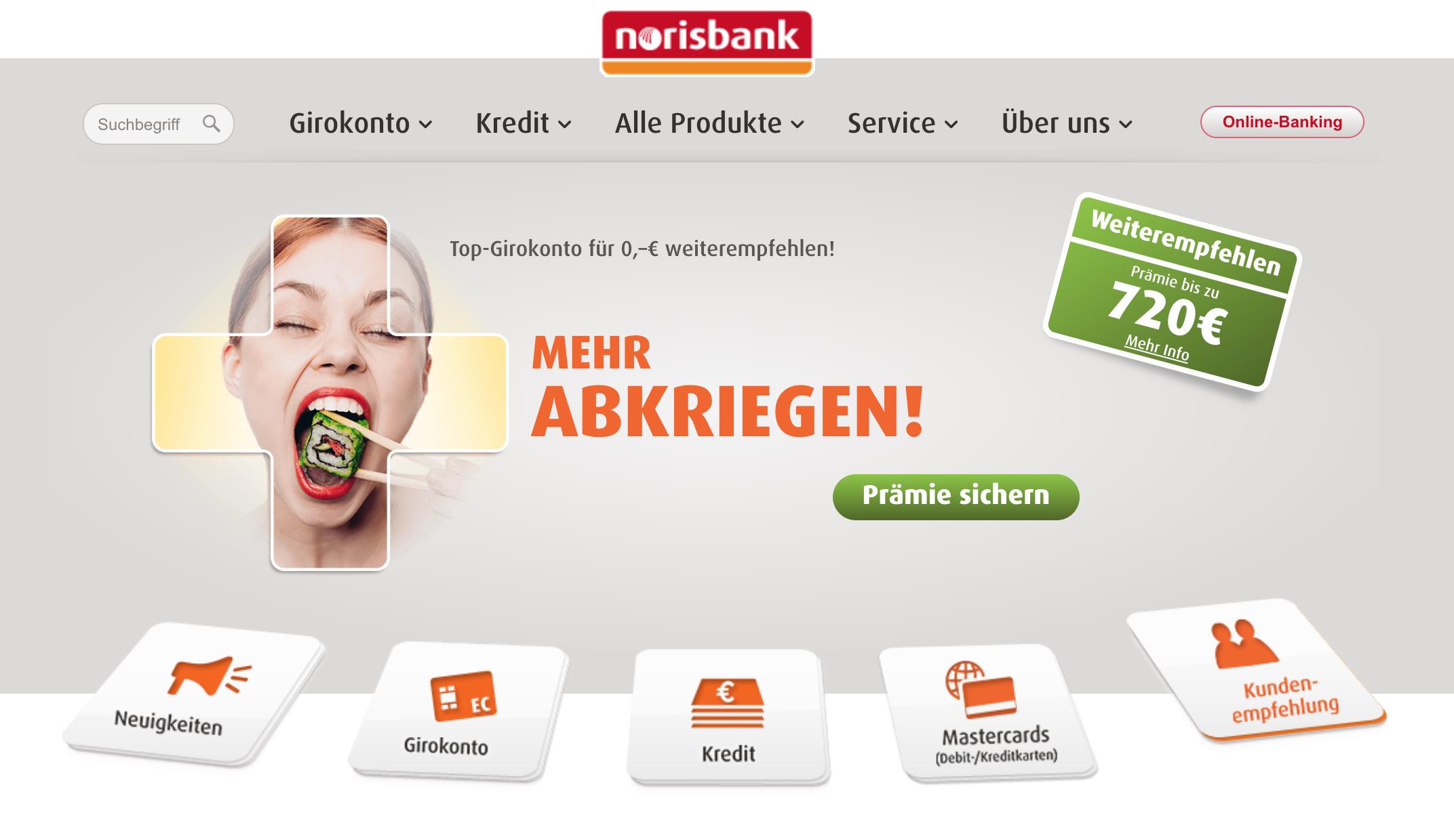 Norisbank Erfahrungen - Seriöser Anbieter?