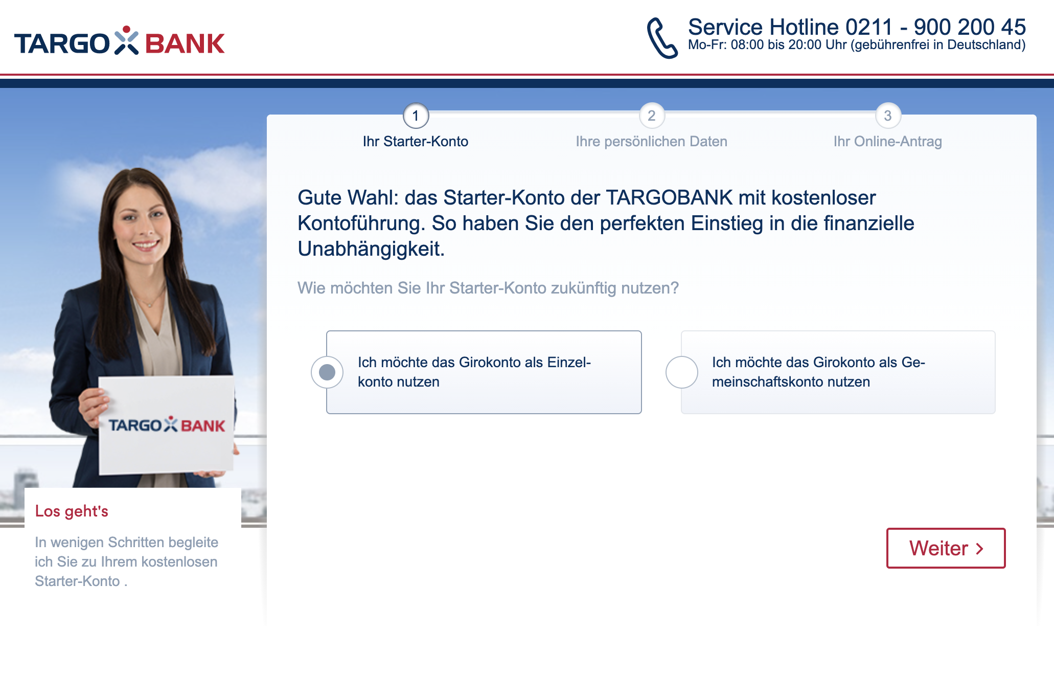 Targobank Girokonto Eröffnung Online Antrag